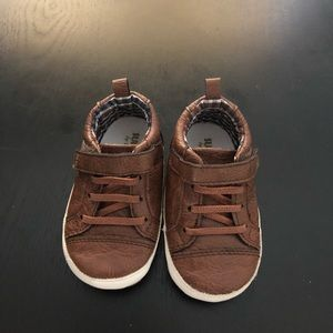 Rustic Style soft sole baby shoe